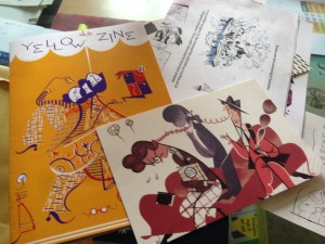 My Kickstarter goodies from Roman Muradov!